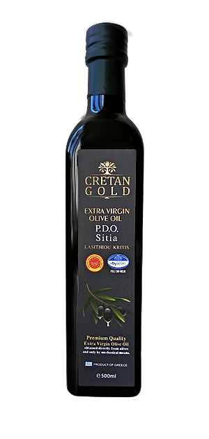 "Extra Virgin Olive Oil ""Cretan Gold"""